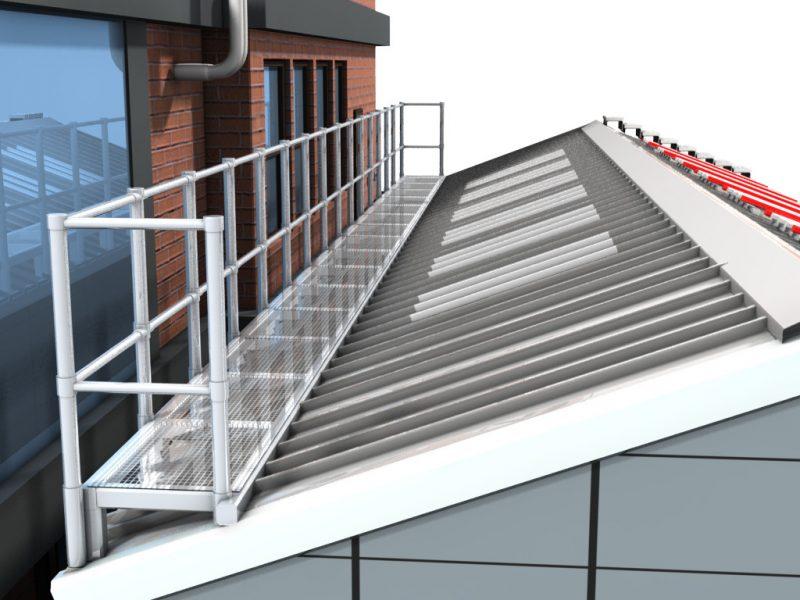 Aluminium Walkway 2b