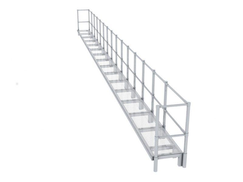 Aluminium Walkway 3a
