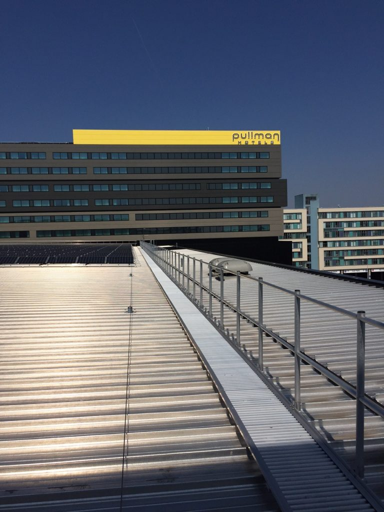 Roof Walkways   Roof Walkway Systems for Maintenance Purposes