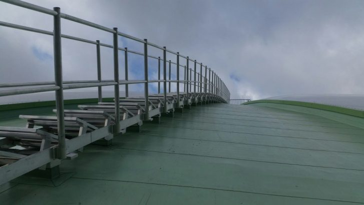 Aluminium Maintenance Walkway with Handrail